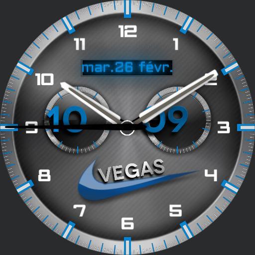 vegas nike grey and bleu