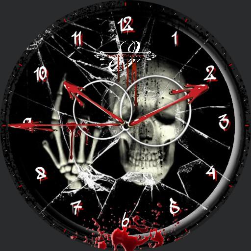Halloween Skull Animation