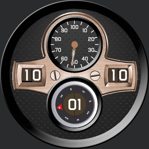 Fat Joy Compass - watch face for Apple Watch, Wear OS, Samsung Gear