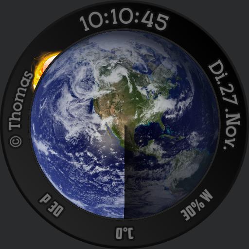 T. F. Animated Earth
