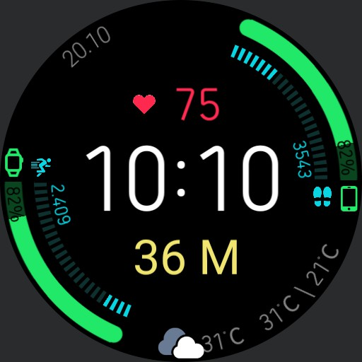V.2.1/EN Blood Glucose Health Dashboard with xDrip Integration without WorkOut Button Copy