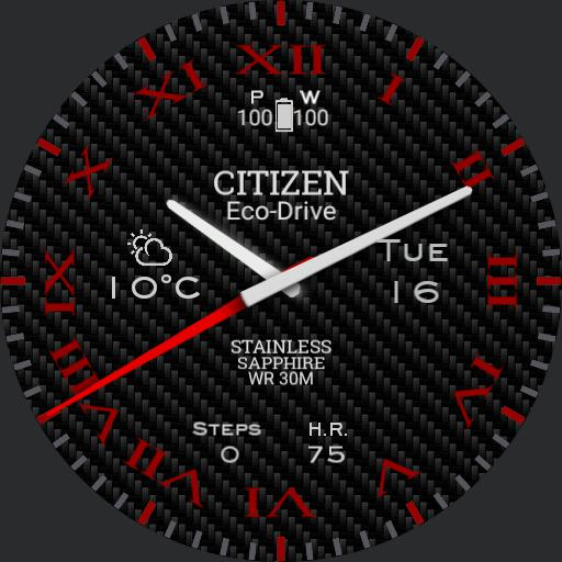 Citizen Sport Carbon 007