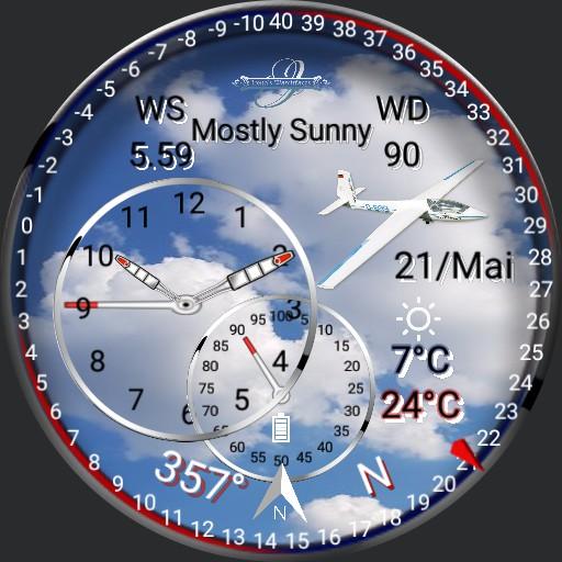 Wetter Watch, Flieger Segelflieger