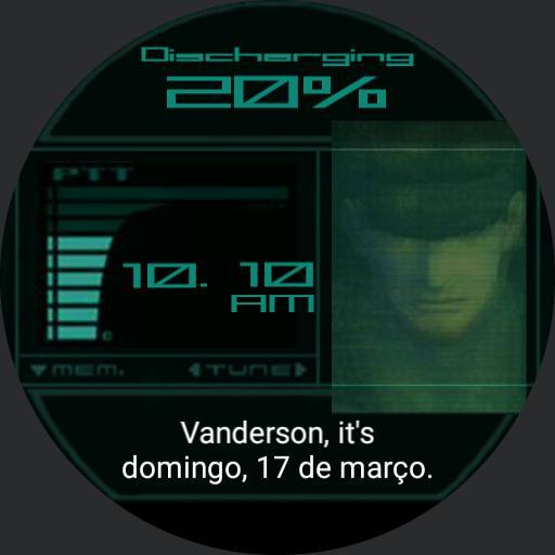 MGS2 Snake Codec Vanderson Final