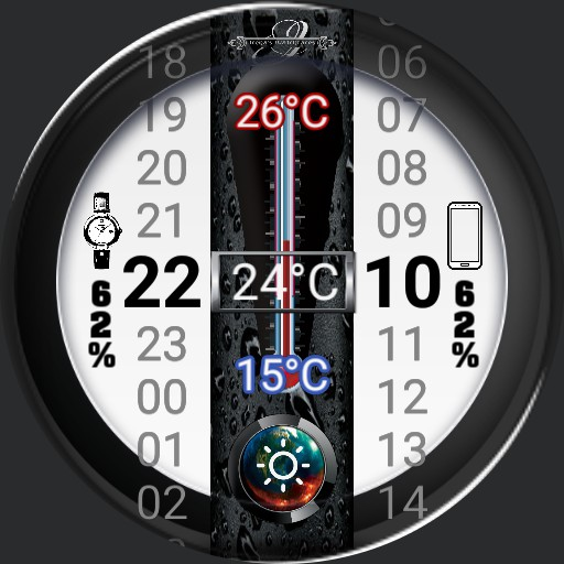 Thermometer Wetterface