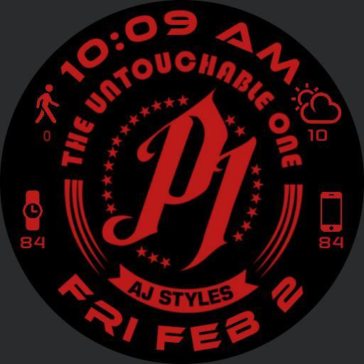 AJ Styles P1 red