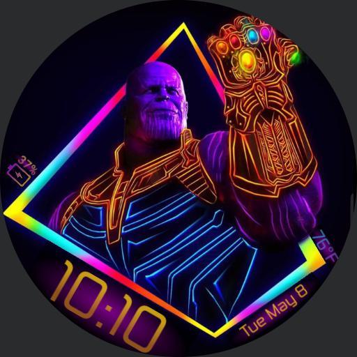 Neon Thanos