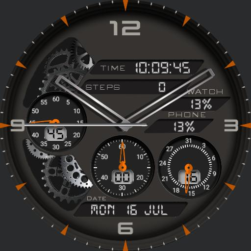 Orange Sporty
