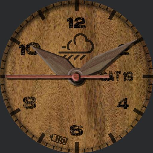 Wood Rustic  wood hands