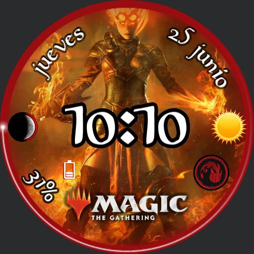 Magic Chandra Fire