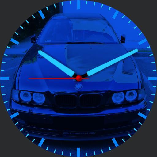 BMW BLUE NEON 3