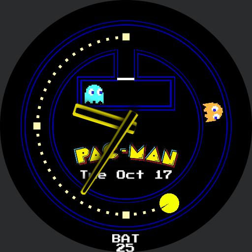 Pac-Man Round Face Custom JDR