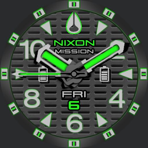 PVS Nixon Factor-X Green T-Grid
