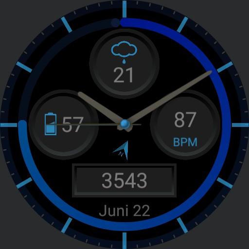 Modern Blue Function