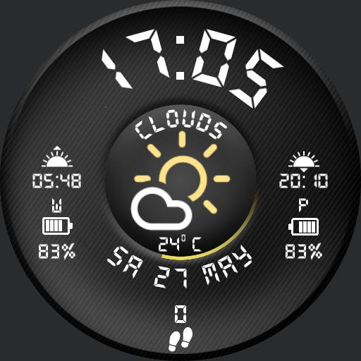Simple Weather Clock V2