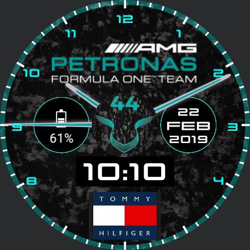 Mercedes amg F1 Team LH44