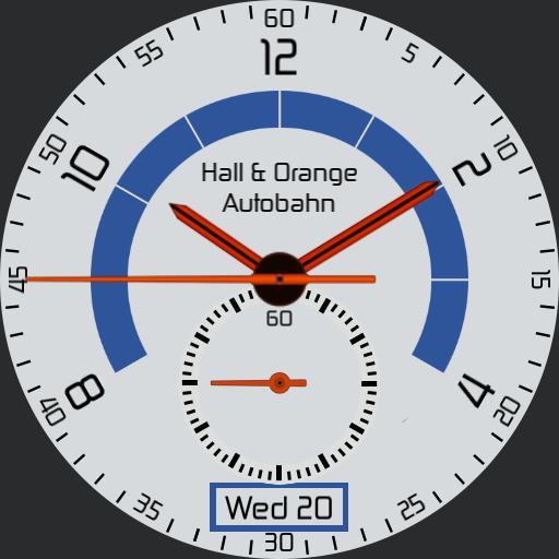 Hall and Orange Autobahn