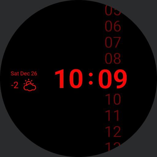 Red In Black Minute Series