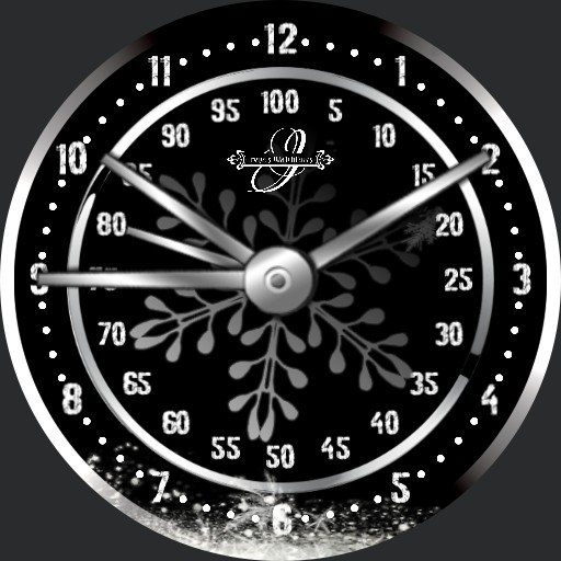 Winter Snowflake Silver 2S.