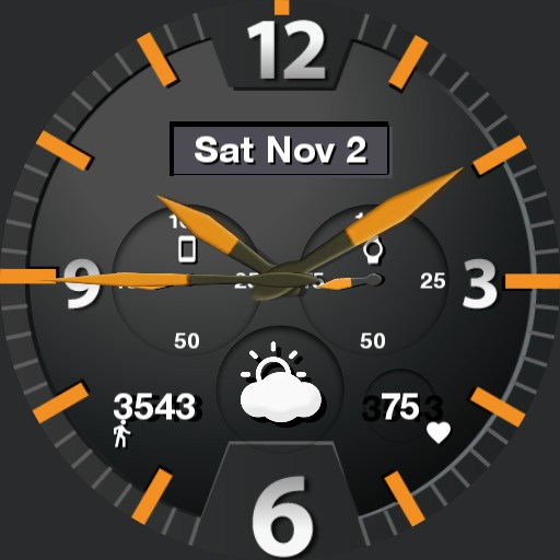 Clear Functional Watch
