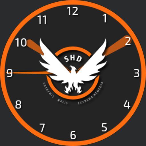 The Division - SHD Logo Watchface