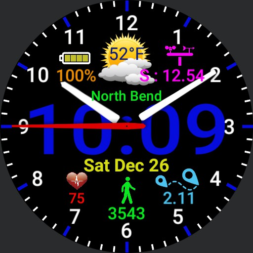 A1 Watch face