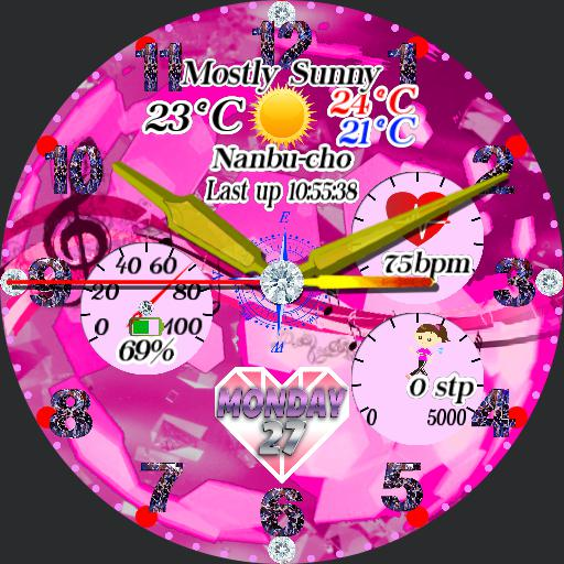 pink design jewelry
