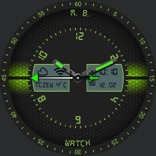 M.B WATCH Green Copy