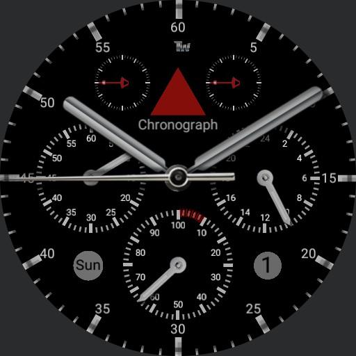 dual classic watch