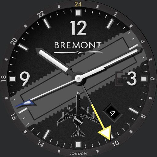 BREMONT BOEING E-3 SENTRY Ti-GMT DIM