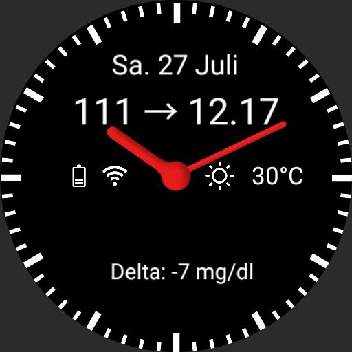 xdrip watch - WatchMaker Watch Faces