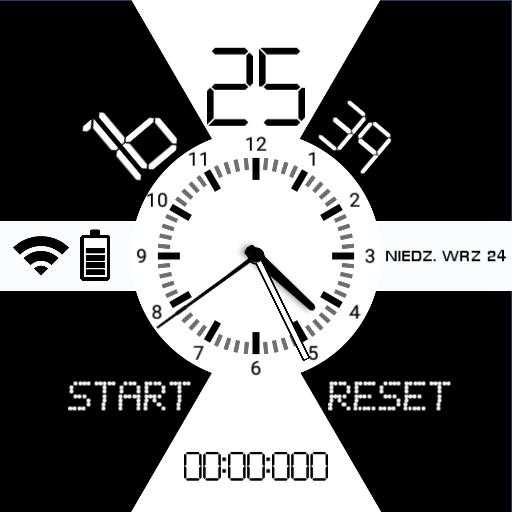 SimpleClock vROUND