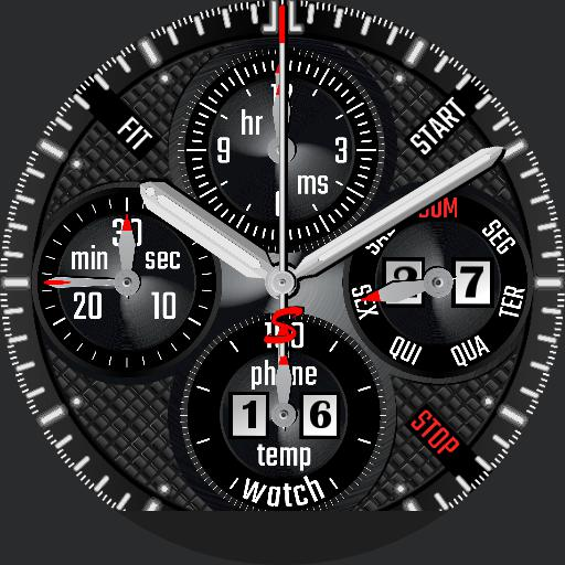 STAAB Mark I Chrono black