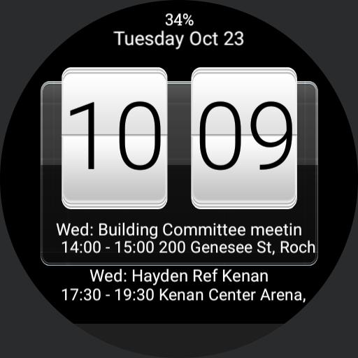 HTC Sense w/ 2 events