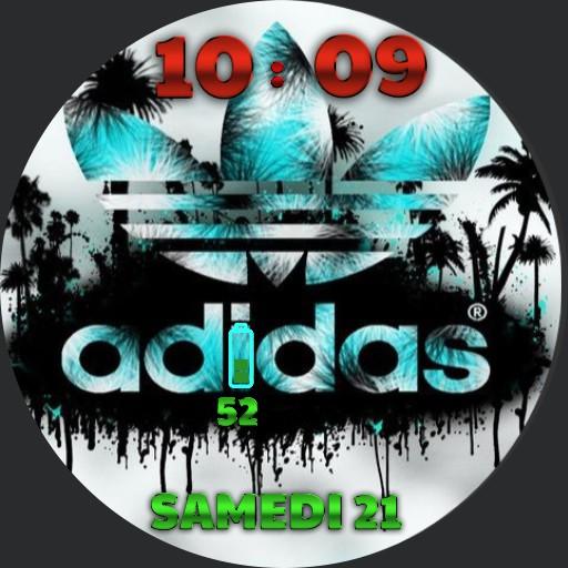 Adidas watch by Eric Elias