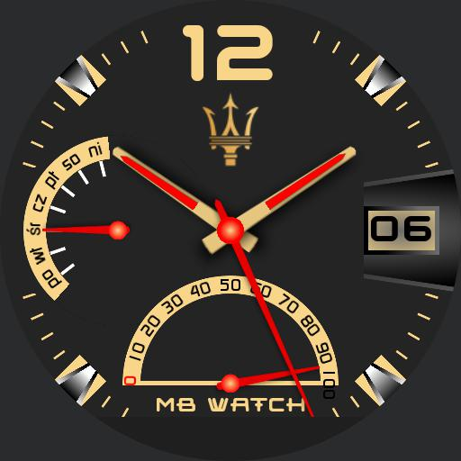 MB WATCH GOLD