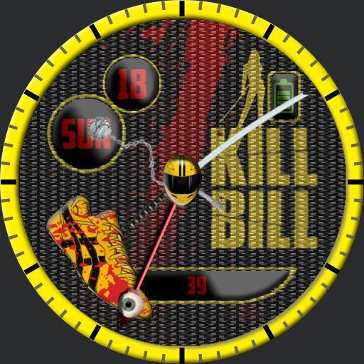 Kill Bill Watch Unique Hands