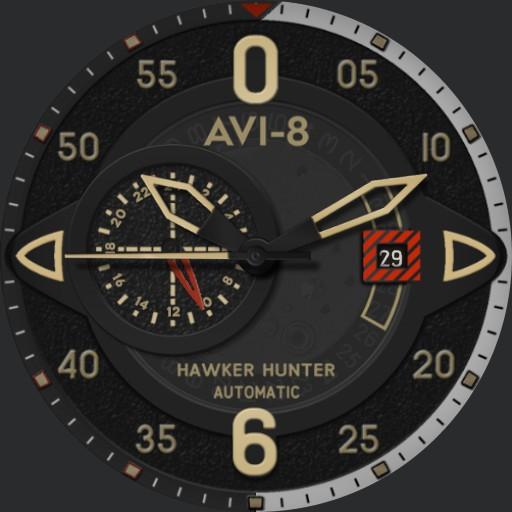 HAWKER HUNTER AV-4043