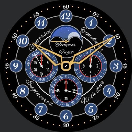 Universal chronograph Copy