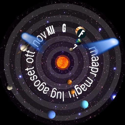 SolarSystemTime analogic