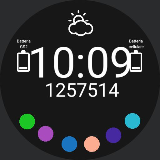 Adriano Watch face GS2