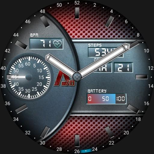 A-70 X Watch Blue Hero