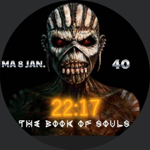 Book of Souls animated