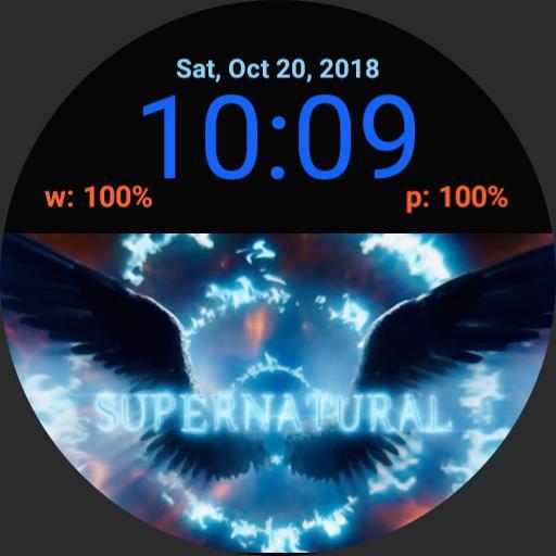 Supernatural 14 logo digital