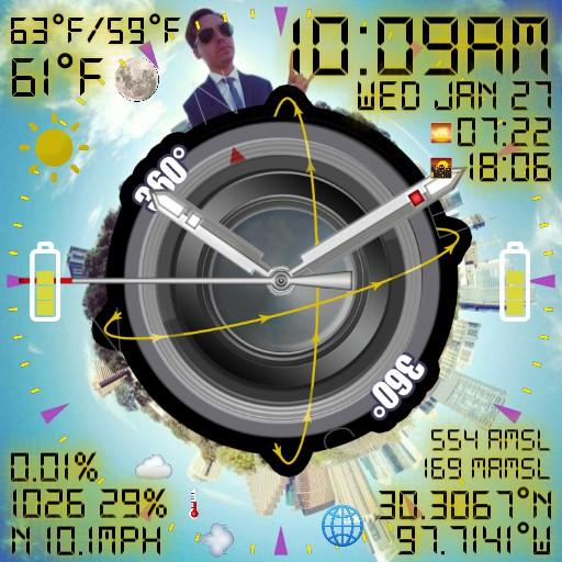 360Production.Services Drone Pilot Watch Face