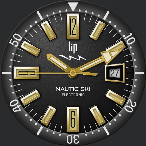 LIP Nautica-Ski Electronic 1968 / LIP 671506 Nautica-Ski Automatic 2019