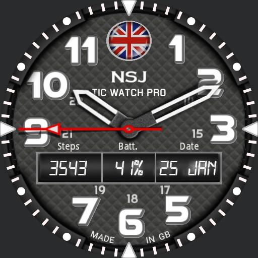 NSJ Ticwatch 1