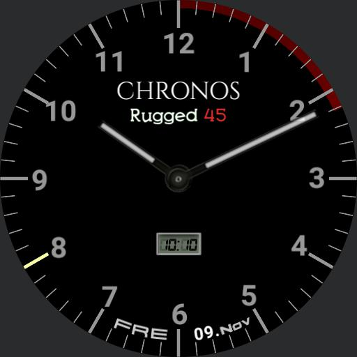 Chronos rugged 2 mach1