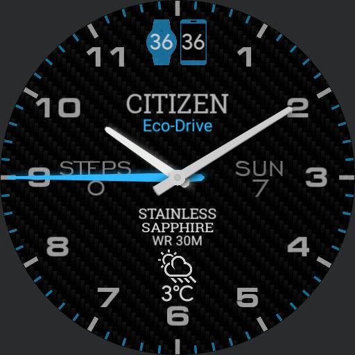 Citizen Blue, low OPR battery usage, nice AOD Copy