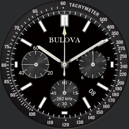 BULOVA Special edition dimmed Black